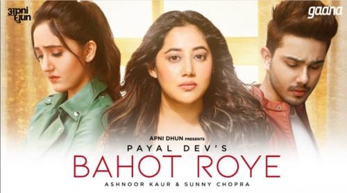 Bahot Roye Lyrics