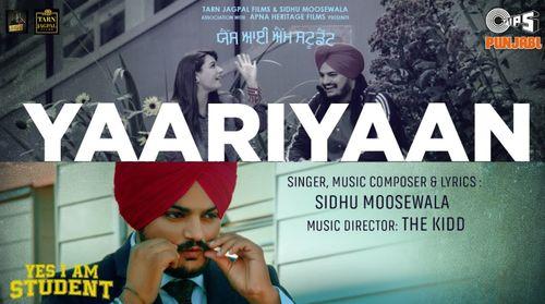 Yaariyaan Song Lyrics